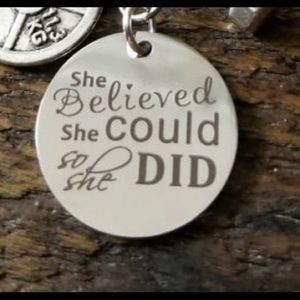 She Believed...Necklace